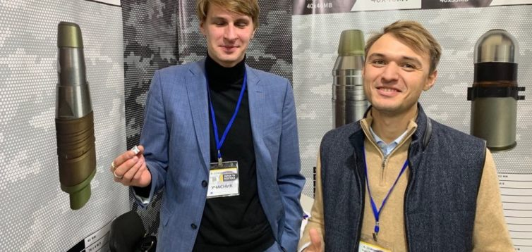Фігурант справи Свинарчуків представляє на виставці гранати, у НАБУ до нього жодних претензій