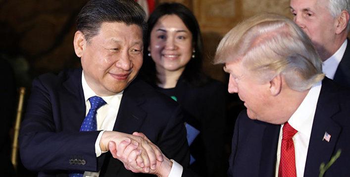 (Рус) Трамп хочет наладить торговые отношения с Китаем, – СМИ