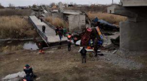 У Росії впав черговий міст