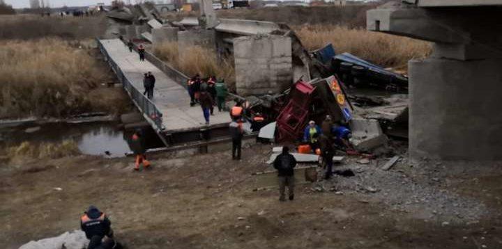 В России рухнул очередной мост