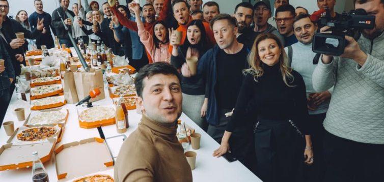 Партія «Слуга народу» висунула в президенти  Зеленського