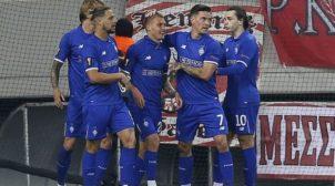 Ліга Європи: Динамо вирвало нічию в першому матчі з Олімпіакосом