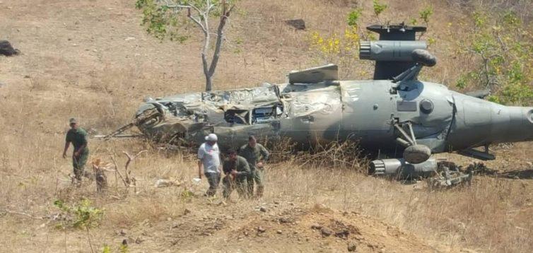 У Венесуелі впав російський ударний вертоліт. ФОТО