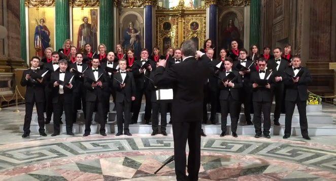 Прямо в соборі: в РФ заспівали пісню про ядерне бомбардування Вашингтона.ВІДЕО