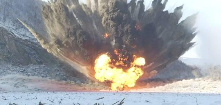 Українські військові показали ліквідацію укріпрайону бойовиків. ВІДЕО