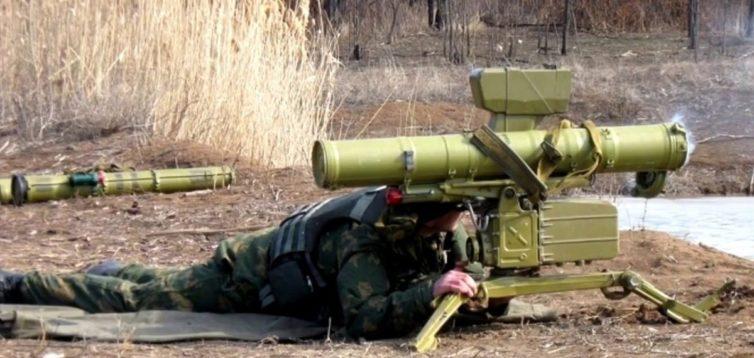 Ракеты попадают в цель: в сети опубликовали видео уничтожения боевиков «ДНР».ВИДЕО