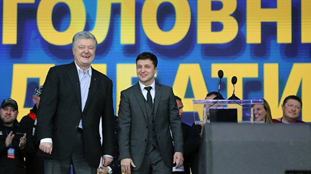 Россиянка зарезала мужа, который мешал ей смотреть дебаты Порошенко и Зеленского. ФОТО