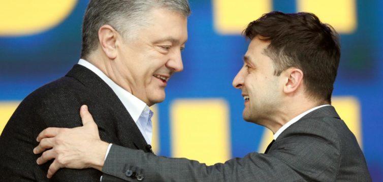 Ось це поворот: Зеленський не виключив, що Порошенко увійде до складу нового уряду