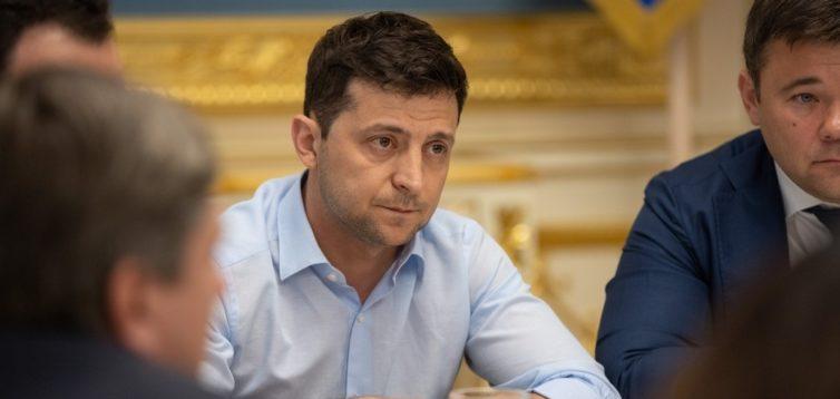 В АП опублікували стенограму зустрічі Зеленського з керівництвом парламентських фракцій