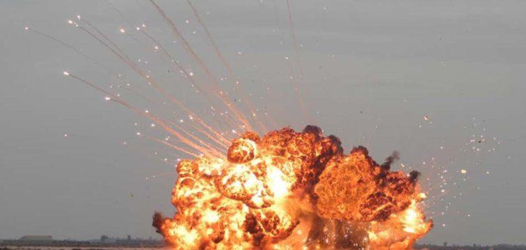 Смертельна Розплата: в мережі показали відео надпотужного удару ЗСУ по бойовиках