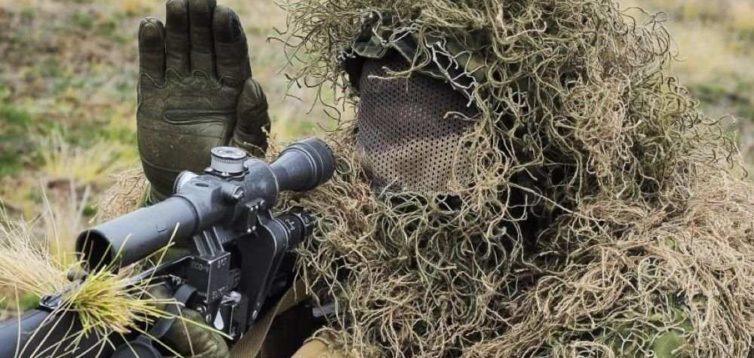 ЗСУ показали запис ліквідації снайпера бойовиків. ВІДЕО