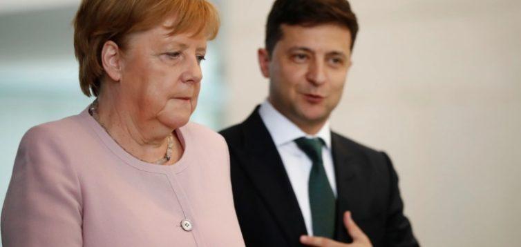Зеленський подзвонив Меркель