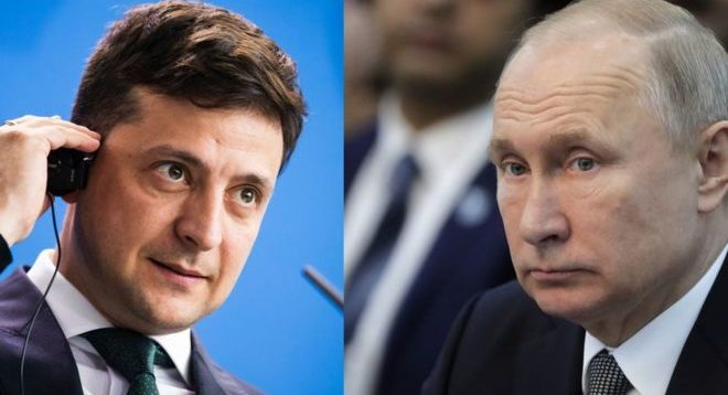 Зеленський провів телефонні переговори з Путіним