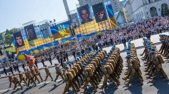 """""""Наш парад 2019"""". Неофіційний військовий марш замість скасованого параду"""