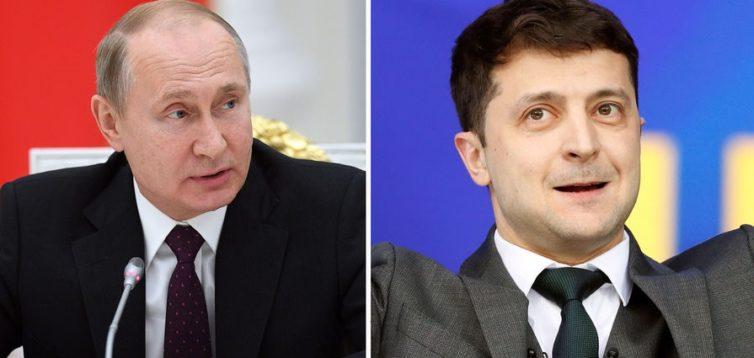 Путін заявив, що готовий видавати укази в якості президента України замість Зеленського