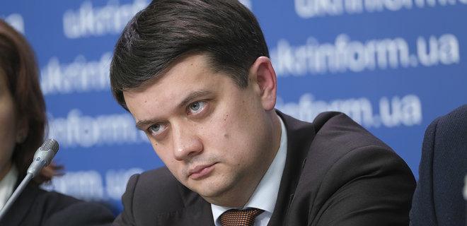 Нусс: Те що творить Разумков не дозволяли собі навіть Янукович і Азаров