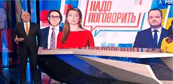 Телеканал Медведчука проведе спільний ефір з російськими пропагандистами