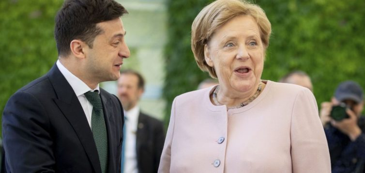 """У Німеччині прокоментували пропозицію Зеленського про зустрічі у """"нормандському форматі"""""""