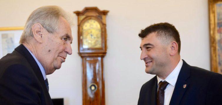 Президент Чехії пообіцяв на зустрічі з Зеленським обговорити автономію для Закарпаття