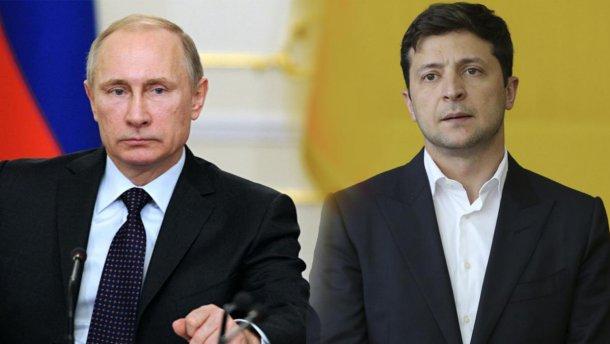 """Путін на форумі натякнув, що у нього і Зеленського на Донбасі тепер є """"спільний ворог"""""""