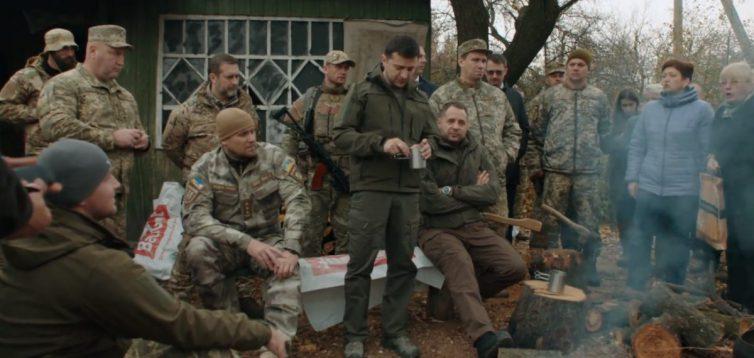 На Донбасі обстріляли добровольців, з якими говорив Зеленський