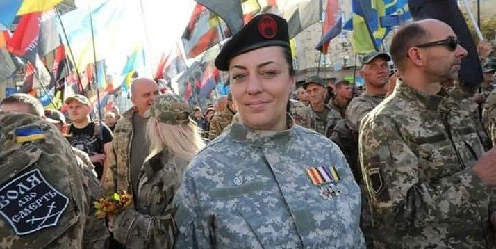 У Києві заарештували ветерана АТО Інну Грищенко (Пуму)