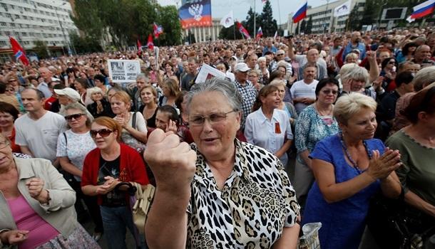 """Жителі """"ДНР"""" подали до суду на Україну і вимагають грошей через """"обстріли ЗСУ"""""""
