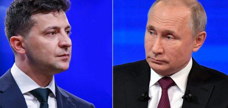 """Зеленський заявив, що на зустрічі з Путіним він хоче зрозуміти, """"як ми можемо зупинити війну"""""""