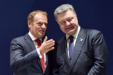 Порошенко передал Туску 30 часов записей разговоров главы ДБР Романа Трубы