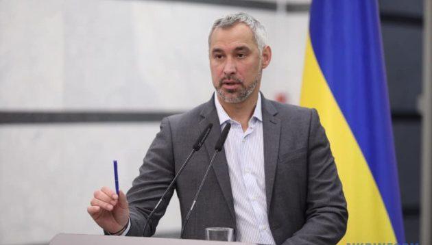 Рябошапка: У слідства немає достатньо доказів у справі Шеремета для передачі до суду