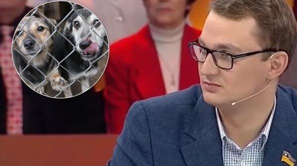 """У """"Слузі народу"""" заявили, що Брагар """"нічого не порушив"""", коли запропонував пенсіонерці продати собаку"""