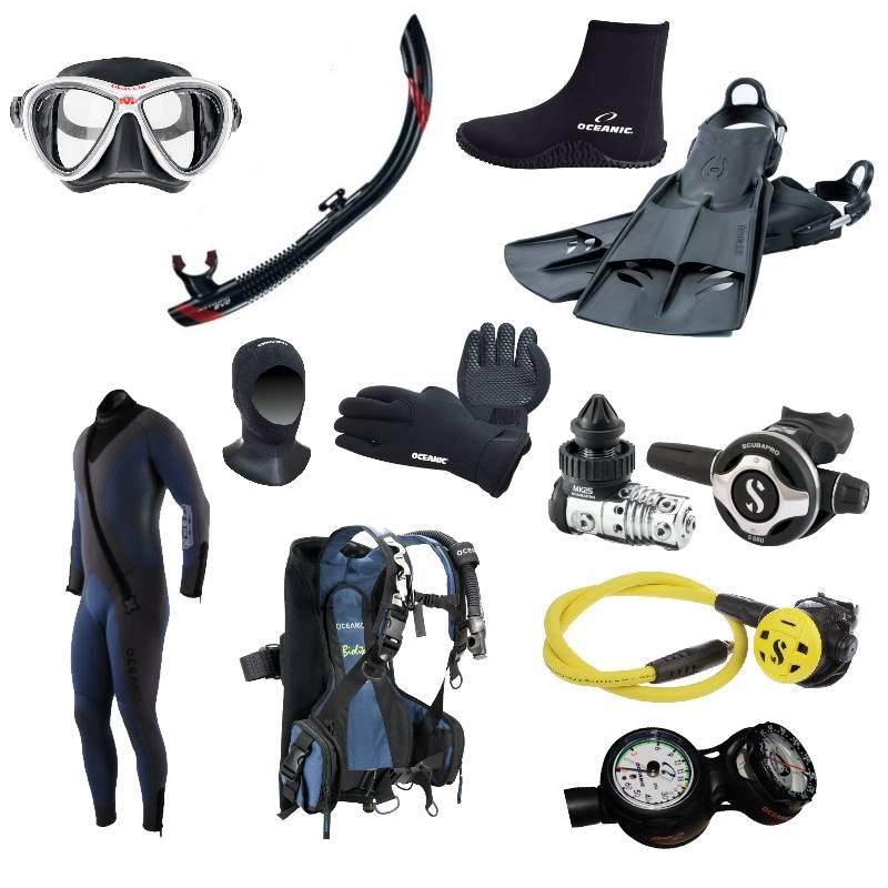 Как выбрать снаряжение для дайвинга и подводной охоты