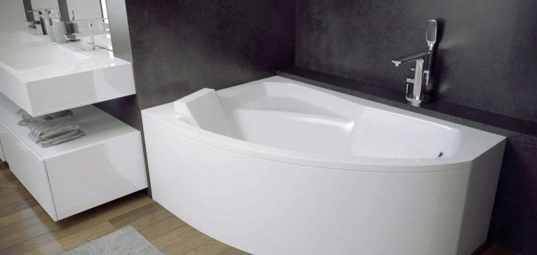 Акриловая ванна: критерии выбора и преимущества