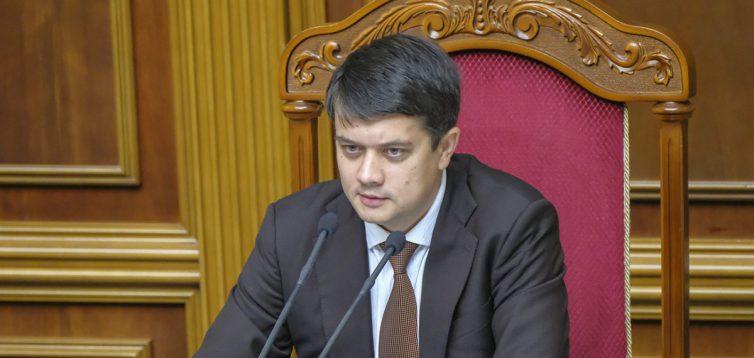 Разумков неоднозначно відповів на питання про постачання води до Криму