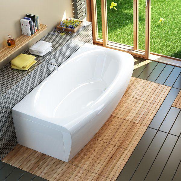Чем привлекательна акриловая ванна