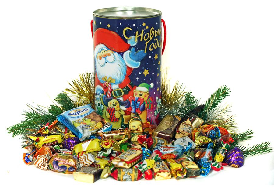Выбираем сладкие новогодние подарки