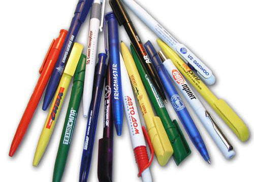 Услуги печати на ручках