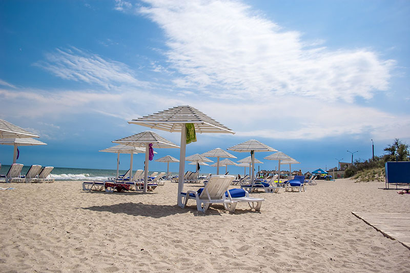 Популярні пляжі Бердянська
