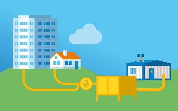 Помилки через які виникає борг при онлайн-оплаті за доставку газу
