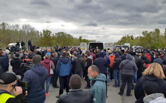 Немає куди подіти врожай, – фермери Херсонщини вийшли на протест