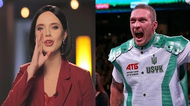 """Телеведуча Яніна Соколова висміяла Усика і запропонувала """"втащить"""" і їй"""