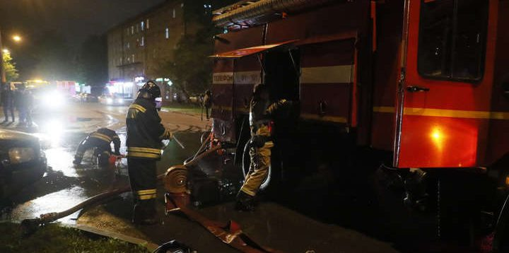 Под Москвой в хосписе произошел пожар: погибли 10 лежачих пациентов