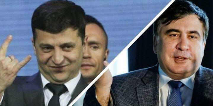 """""""Новий Месія"""": Саакашвілі заявив, що тільки Зеленський може врятувати Україну"""