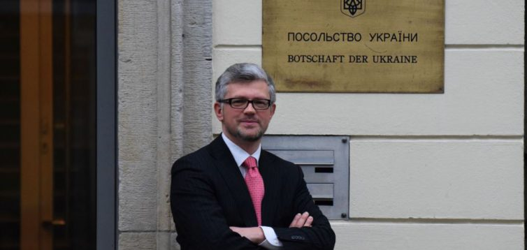 Через агресію на Сході, український посол відмовився від спільної з Росією церемонії до дня перемоги в Берліні