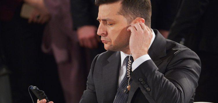 (Рус) Зеленський задає прочуханки чужим чиновникам і старанно прикриває своїх