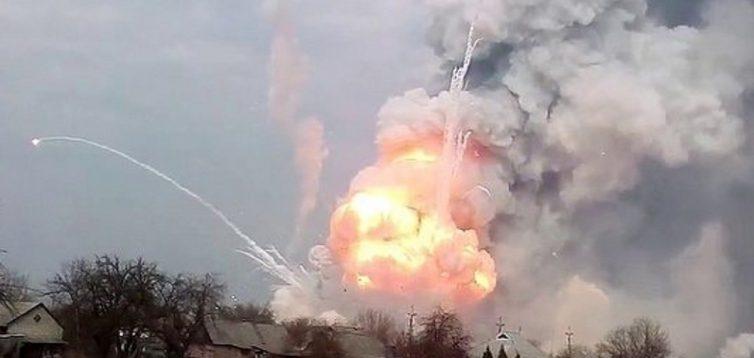 В Росії вибухають склади зі снарядами, люди змушені тікати