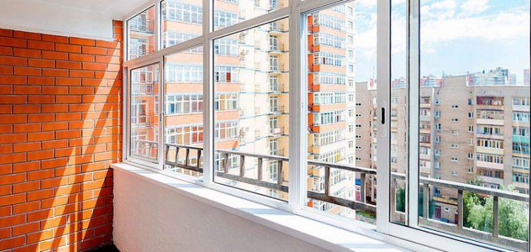(Рус) Балкон под ключ: виды остекления балконов и лоджий