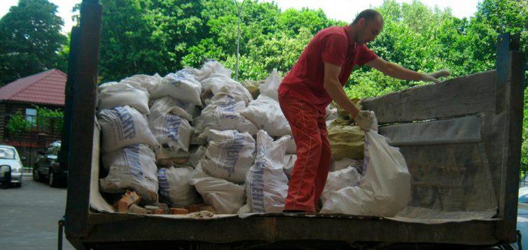 (Рус) Сколько стоит вывоз строительного мусора – грузовое такси в Киеве