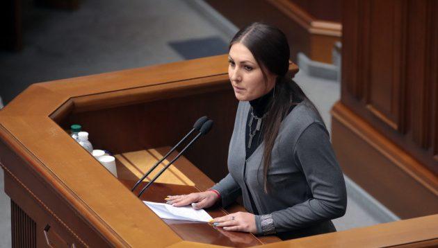 Федина подала до суду на Зеленського