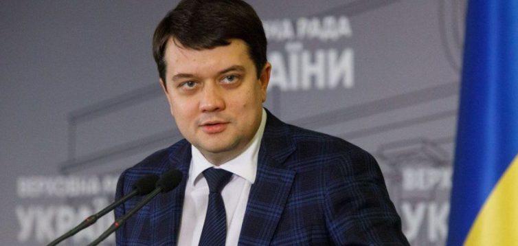 """""""Я всю виборчу кампанію проговорив російською"""",- Разумков щодо мовного закону"""